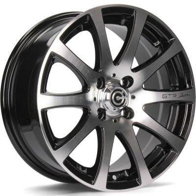 Carbonado GTR Sports 4 15 4x100 BFP - Black Front Polished