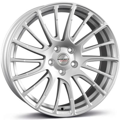 Borbet LS2 17 5x110 BS - brilliant silver