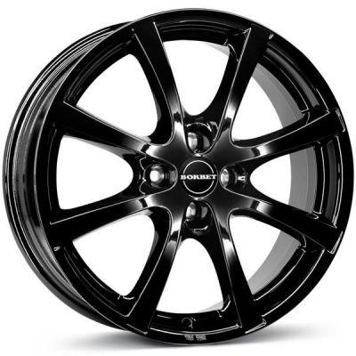 Borbet LV4 14 4x108 BG - Black Glossy