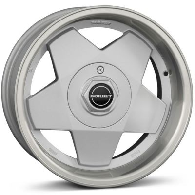 Borbet A 15 4x100 SP - Silver Polished