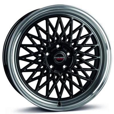 Borbet B 17 4x100 BRP - black rim polished