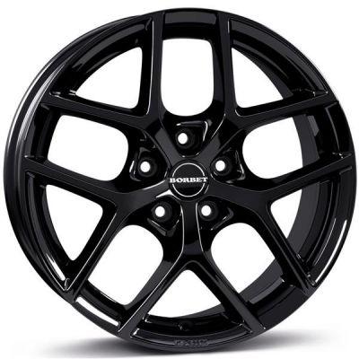 Borbet Y 16 5x114,3 BG - Black Glossy