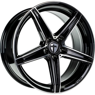 TOMASON  TN20 18 5x110 BlackPolished
